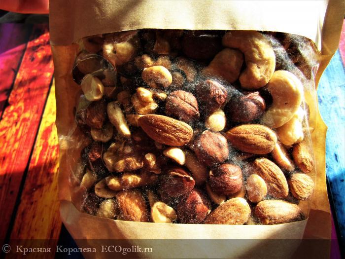 Натуральная ореховая смесь Tasty mix Siberina - отзыв Экоблогера Красная Королева