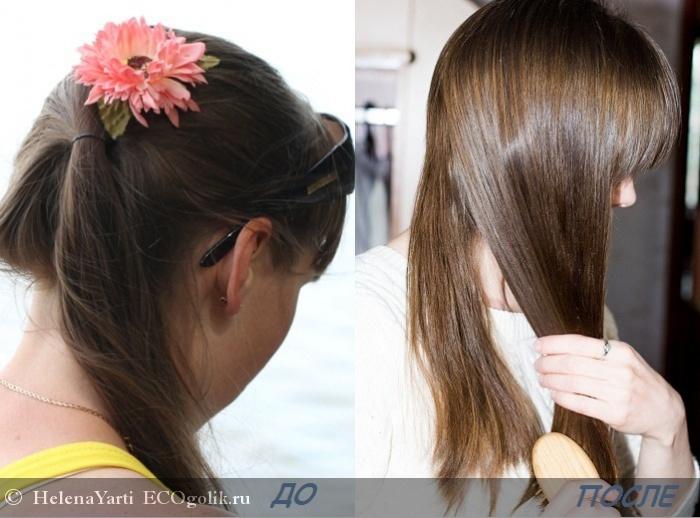 Мягкий шампунь без силиконов для всех типов поврежденных волос Aromarina - отзыв Экоблогера HelenaYarti
