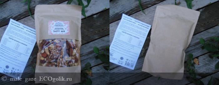 Смесь орехов Tasty mix SIBERINA - отзыв Экоблогера male gaze
