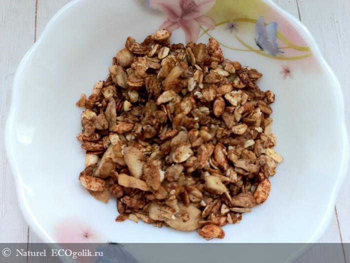 Полезная натуральная гранола Шоколад с бананом от бренда Siberina - отзыв Экоблогера Naturel