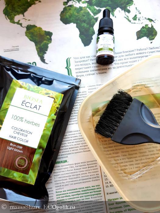 С краской для волос Eclat ТМ Biosee можно быть разной и не беспокоится о здоровье волос! - отзыв Экоблогера mamaShury
