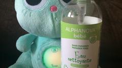 Отзыв: Очищающая вода c Alphaprotect®. Несмываемая. Alphanova