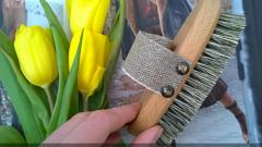 Отзыв: Массажная щетка из древесины и натуральной щетины Forster's - Бодрое утро на пути к идеальной коже.