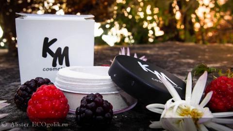 Отзыв: Минеральный хайлайтер цвет H1 KM cosmetics