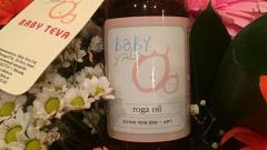 """Отзыв: Масло антицеллюлитное для поддержания гормонального баланса кожи тела """"Roga oil"""" Baby Teva"""