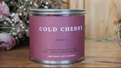 Отзыв от Irinka: Ароматическая свеча из соевого воска «Холодная вишня»