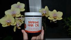 "Отзыв: Масло кокосовое для волос ""Brahmi Hair Oil"" Vadik Herbs"