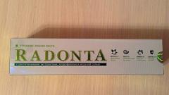 Отзыв: Утренняя зубная паста Radonta