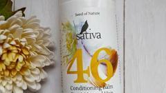 Отзыв: Счастье для волос  - Бальзам-кондиционер для сухого и нормального типа волос №46  от бренда Sativa