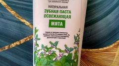 """Отзыв от Lusek14: Зубная паста освежающая """"Мята"""""""
