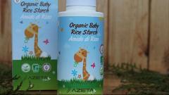 Отзыв: AZETAbio Органическая пудра для ванны с рисовым крахмалом не только для малышей, но и деток постарше