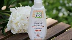 Отзыв: Легкое молочко для тела с ослиным молоком SO'BiO etic 😍