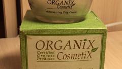 Отзыв: Увлажняющий дневной крем для всех типов кожи Organix Cosmetix