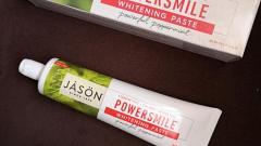 """Отзыв: Jason Natural, PowerSmile """"Паста для защиты от зубного налета с эффектом отбеливания, перечная мята"""""""