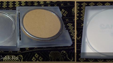 Отзыв: Компактная пудра тон светло-песочный 02 Sante