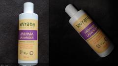 Отзыв: Шампунь и кондиционер для жирных волос Лаванда от Levrana