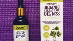 Отзыв: Масло для волос на основе лечебных трав №28 Dr.Konopka's