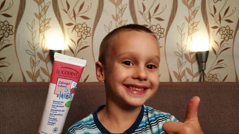 Отзыв: ВИДЕО: Самая вкусная зубная паста - Клубничка Logodent!