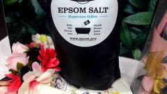 """Отзыв: Соль английская для ванны Salt of the Earth """"EPSOM SALT"""". Антицеллюлитный эффект, снимает головные боли и боль в мышцах."""