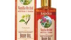 """Отзыв: Антиоксидантное масло для тела """"Ваниль-Орхидея"""" Badger"""