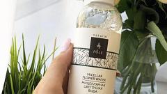 Отзыв: Натуральная Мицеллярная цветочная вода POLE