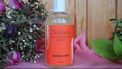 Отзыв: Лерана Пена для ванны «Апельсин и мята»