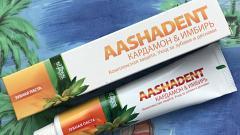 Отзыв: Зубная паста AASHADENT Кардамон-имбирь