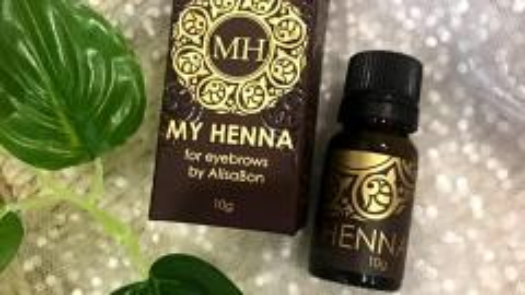 """Отзыв: Alisa Bon.  Хна для окрашивания бровей """"My Henna"""" (коричневая). Как мне нравятся мои новые бровки!!!!!"""