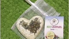 Отзыв: Масло твердое для ванны Лаванда (сердце в органзе) EcoWorld