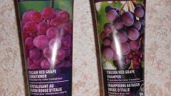 Отзыв: Desert Essence Органический шампунь и кондиционер с экстрактом красного винограда для окрашенных волос