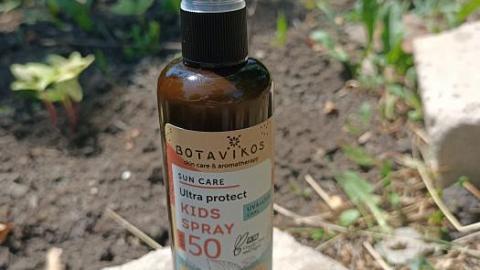 Отзыв: Солнцезащитный спрей для детей SPF50  от  Botavikos