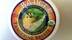 Отзыв: Классический бальзам для губ и тела Мандариновый бриз Badger