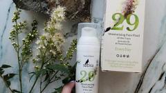 Отзыв от Anastasija: Крем флюид для лица увлажняющий №29 для всех типов кожи
