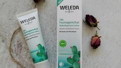 Отзыв: Увлажняющий флюид 24 часа из новой серии от Weleda