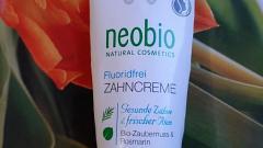 Отзыв: Зубная паста без фтора от Nеоbio