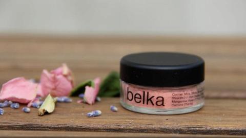 Отзыв: Минеральные румяна VELVET02 от Belka -  самый универсальный оттенок
