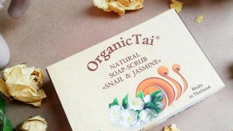 Отзыв: Умопомрачительный аромат жасмина не совсем натурального мыла-скраба «Экстракт улитки и жасмин» Organic Tai...