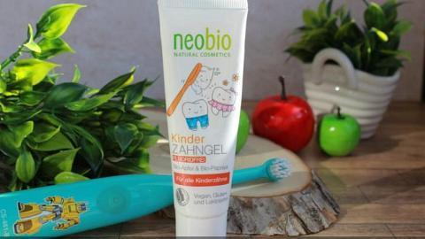 Отзыв от Ленок: Гелевая зубная паста без фтора для детей с био-яблоком и папайей