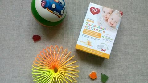"""Отзыв: Натуральная биоактивная зубная паста """"Ваниль"""" для детей 0-3 лет SPLAT"""