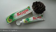 """Отзыв: Профилактическая зубная паста """"Кедра"""""""