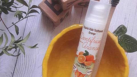 Отзыв от Джулия : Органическая зубная паста с ксилитом 3-7 лет Апельсин