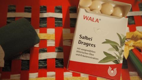 Отзыв: Драже с шалфеем WALA