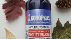 """Отзыв: Отличный ополаскиватель для  полости рта """"Защита 24 часа"""" от Dr.Konopka's"""