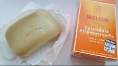 Отзыв: Растительное мыло с календулой и лекарственными травами Weleda